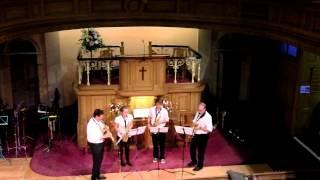 Saxophone Quartet Riverboat Shuffle