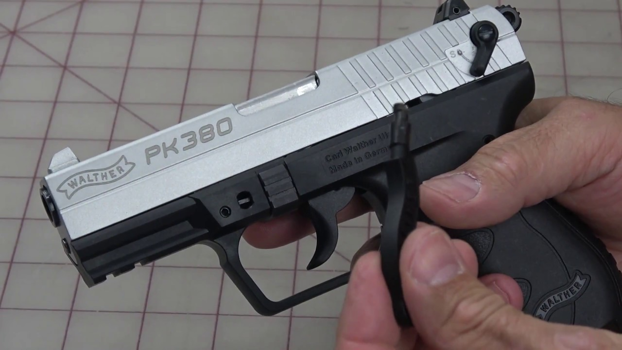 A Fix for the Walther PK380 Guide Rod & Recoil Spring!