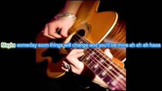 Buddy Holly - Crying Waiting Hoping (Karaoke) La Bamba