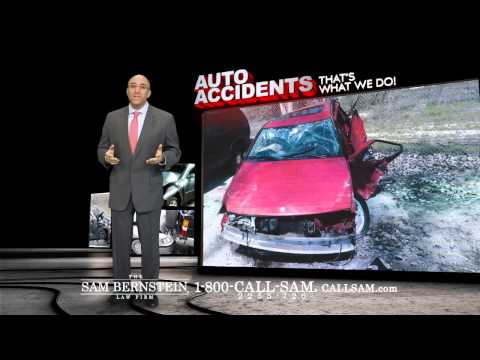 Auto Accidents Leave Damaged Lives - 1-800-Call-Sam