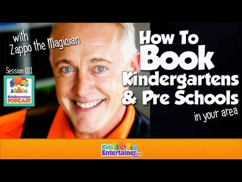 Booking Kindergartens and Pre Schools For Kids Entertainers