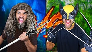 aquaman-weapons-vs-wolverine-weapons-death-battle-comic-movie-weapons-in-real-life