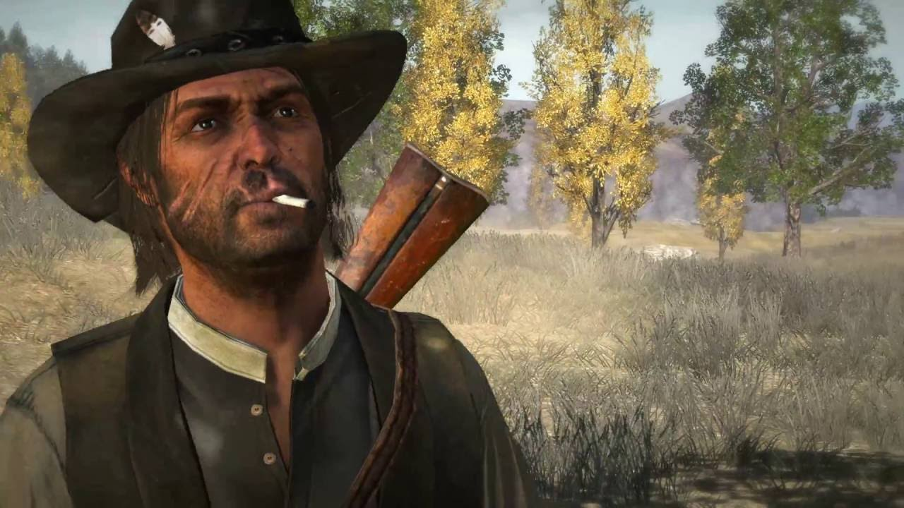 The allnew trailer for Red Dead Redemption 2 the story of outlaw Arthur Morgan and the Van der Linde gang as they rob fight and steal their way across