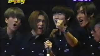 [H.O.T.] '97 MBC 오늘의 연예토픽 Club H.O.T. 1기 창단식