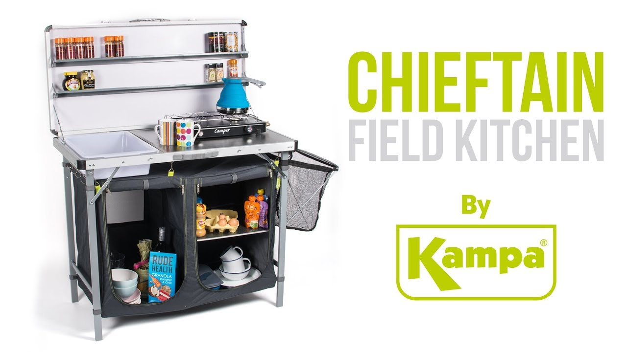 Kampa | Chieftain Field Kitchen | Product Overview - YouTube