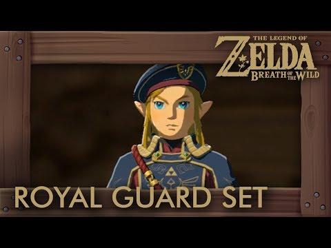 Zelda Breath of the Wild - Royal Guard Armor Set Location