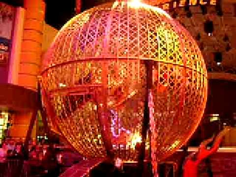 globe of death in las vegas