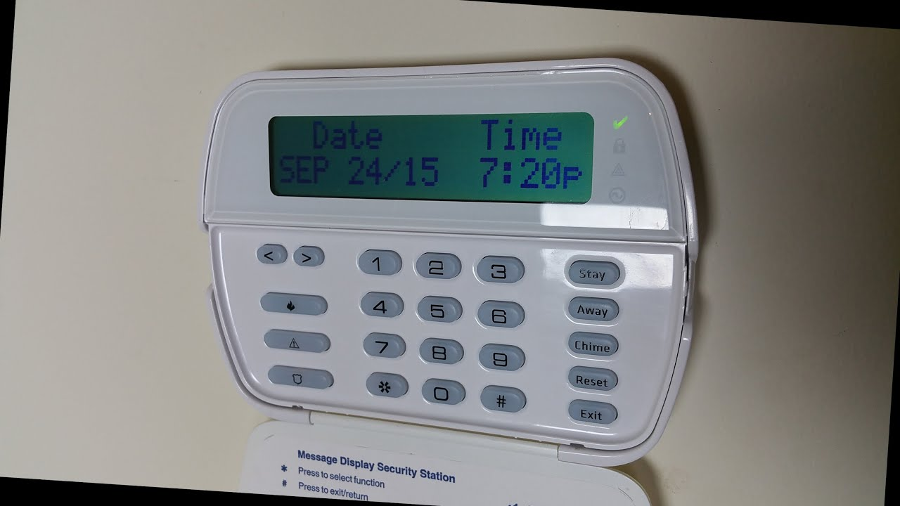 how to use dsc powerseries alarm system youtube