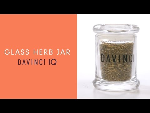 DaVinci IQ Accessories – Glass Herb Jar