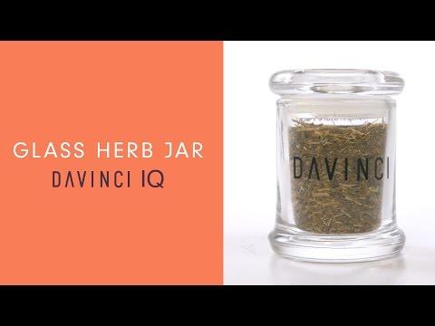 DaVinci IQ Accessories – Glass Herb Jar