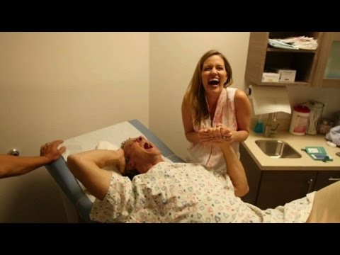 Husband Experiences the Pains of Giving Birth for Mother's Day
