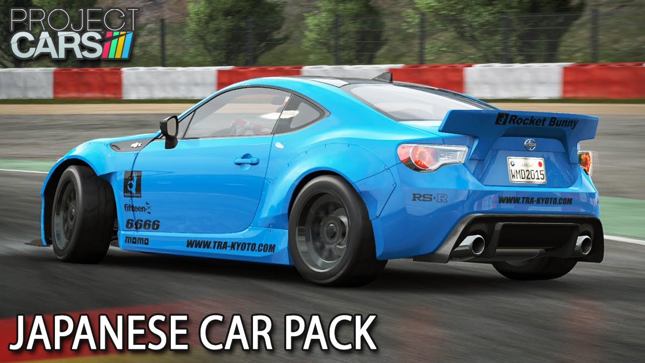 Japanese Car Pack Project Cars Hd Ger Rocket Bunny