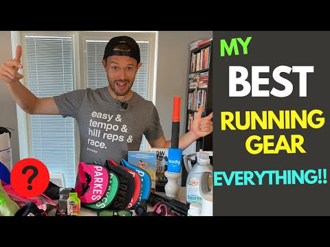 MY BEST RUNNING GEAR! Shoe ROTATION, NUTRITION, RECOVERY, CLOTHING, BOOKS, PODCASTS, HEADPHONES!