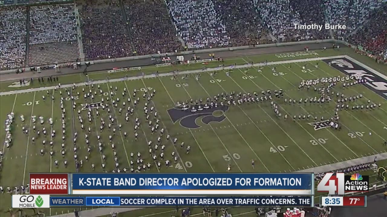 Kansas State University Band apologizes for half time show