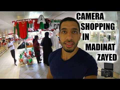 HUNTING FOR THE CANON G7X in Madinat Zayed Shopping Centre! | Vlog #20