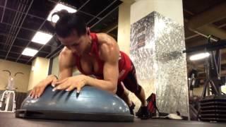 Кардио плиометрика для похудения на БОСУ мяче /Bosu plyo workout