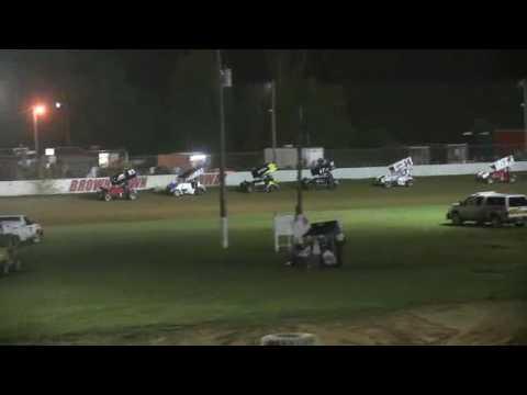 RACE SAVER A MAIN AT BROWNSTOWN SPEEDWAY 6-24-17