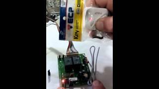 Configuração de controle remoto ECP