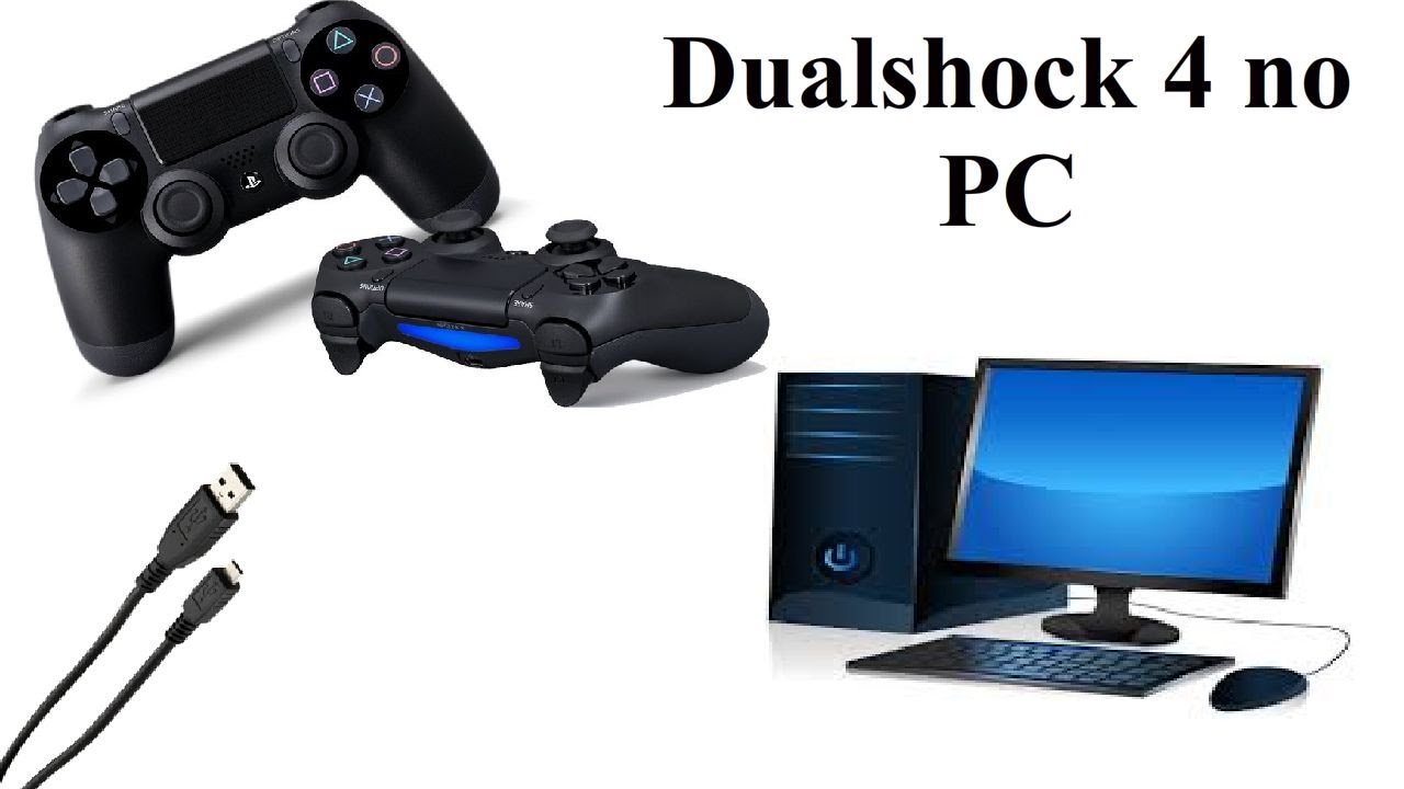 como usar o controle do ps4 no pc youtube. Black Bedroom Furniture Sets. Home Design Ideas