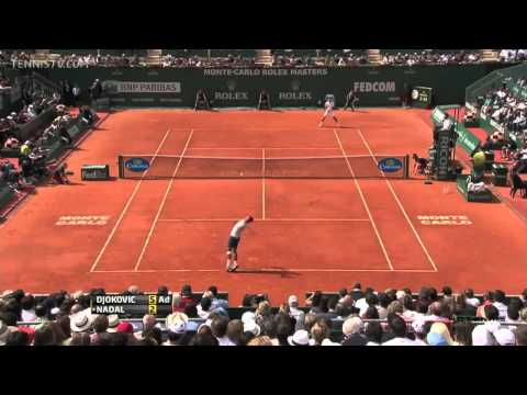 Montecarlo Rolex Masters 2013 Final Djokovic vs. Nadal HD Best points from Djokovic