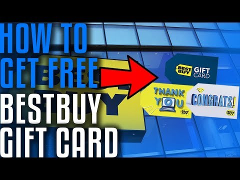 DOES IT WORK?!How to Get  Free BestBuy Gift Card