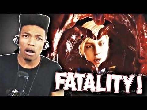 "ETIKA REACTS TO ""MORTAL KOMBAT 11 - ALL FATALITIES"" thumbnail"