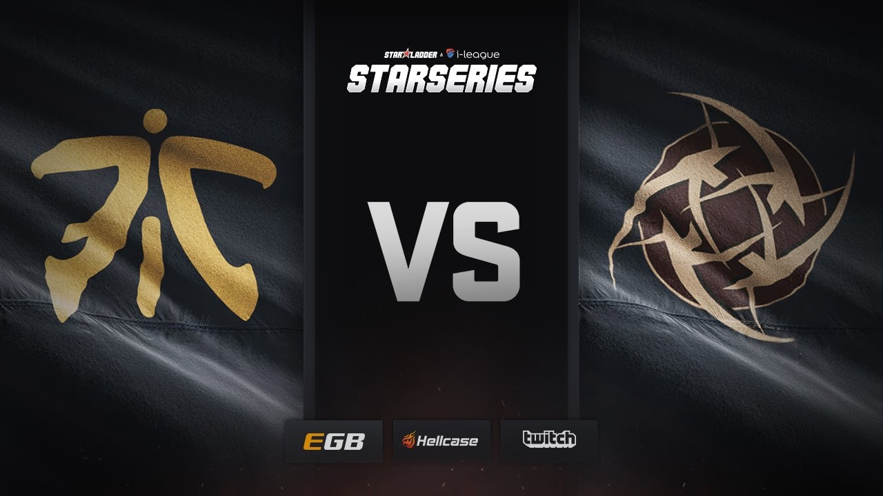 [EN] fnatic vs NiP, train, SL i-League StarSeries Season 3 Finals
