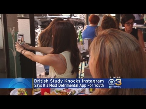 Study: Instagram Most Detrimental Social Media App For Young People's Mental Health
