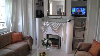 Paris, France - Video Tour Of A Furnished Apartment On Rue Poncelet (ternes-wagram)