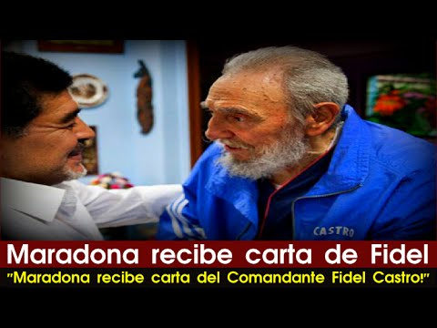 Diego Maradona recibe carta de Fidel Castro | Politics, Cuba, South America