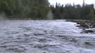 Карелия, рафтинг: сплав по реке Писто (Писта), 2014 год