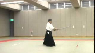 Koji YOSHIDA Nishio-ryu Iaido (Toho Iai no3)