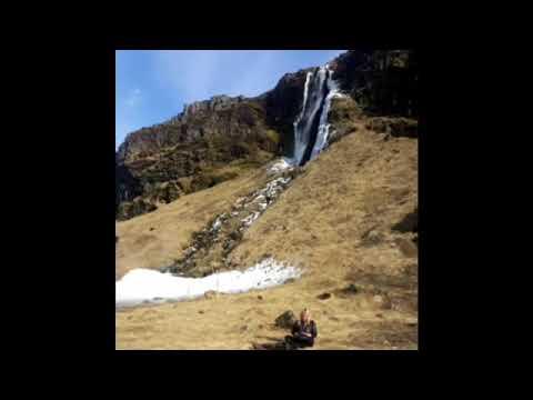 Waterfall Idiopan in Iceland