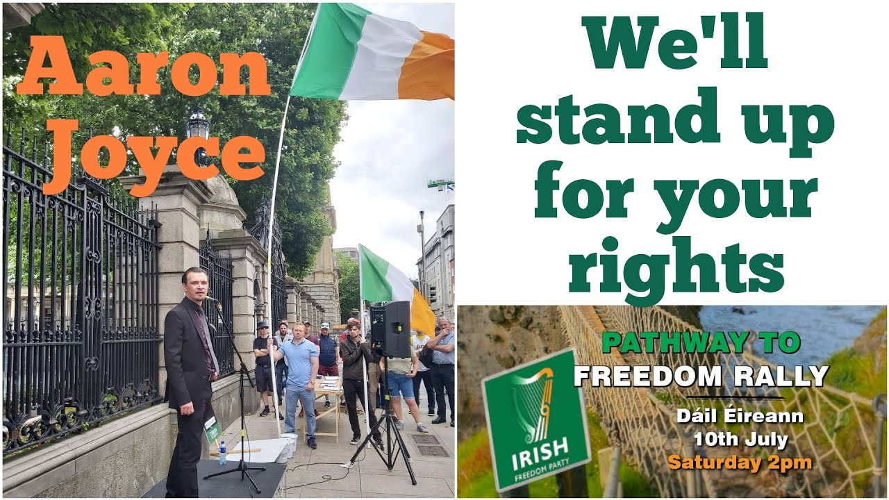 We'll stand up for your rights - Aaron Joyce, Irish Freedom Party, Waterford
