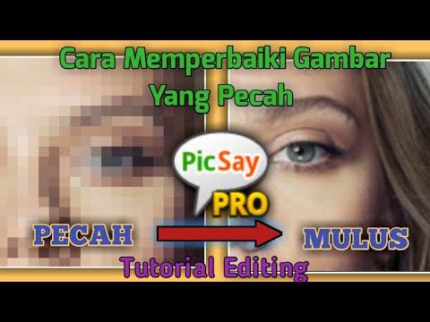 Cara Memperbaiki Foto Yang Pecah Di Android Youtube