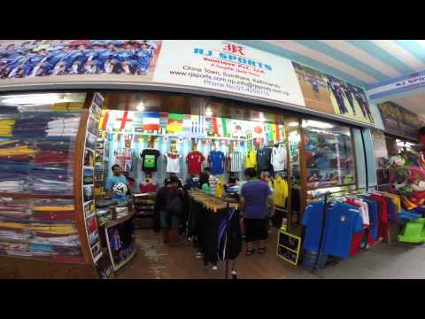 RJ  Sports Nepal  an exclusive showroom  on Sports Wear