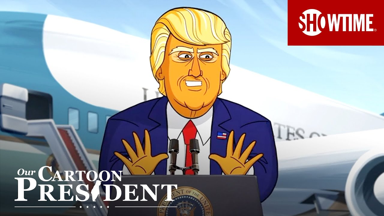 'Leaked Cartoon Trump Woodward Tapes' Ep. 310 Cold Open | Our Cartoon President