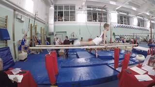 Второе место! Первенство спортивной школы по спортивной гимнастике / третий юношеский разряд