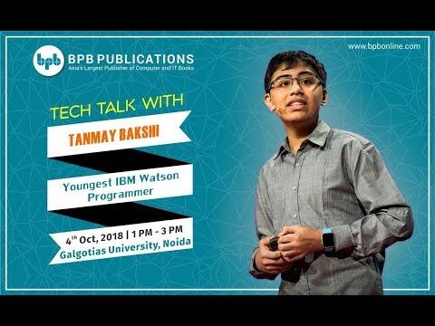 Tech Talks With Tanmay Bakshi!!! || Tanmay in Galgotias College
