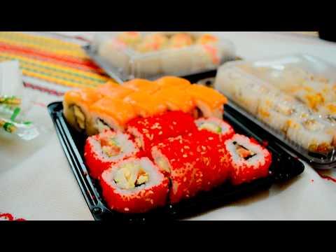 Обзор ресторана доставки Тоши суши Тюмень