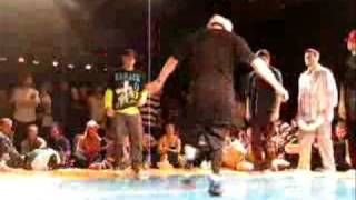 BBOY YNOT (Rock Steady Crew) - Top Rock 7 To Smoke Street Star Festival 2009 Szwecja