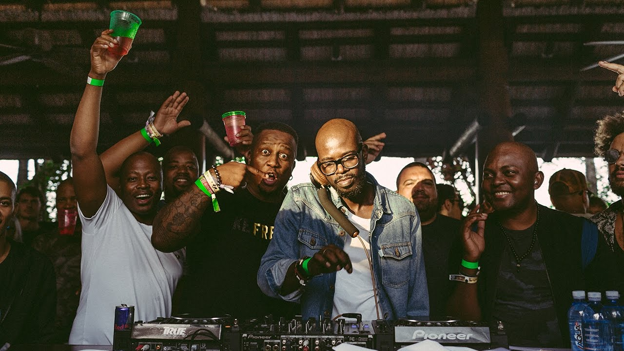 dj black coffee partying with pdiddy