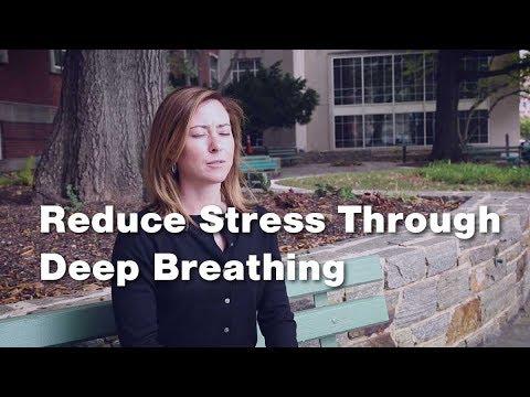 Reducing Stress Through Deep Breathing (1 of 3)