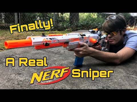 Nerf Mod: Taking The Nerf Longstrike To The Next Level