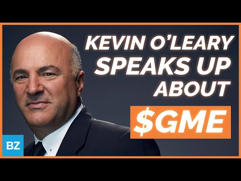 Kevin O'Leary, Siding W/ The Smaller Investor | $GME | ZingerNation