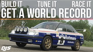 Forza Horizon 4 - 640HP Subaru Legacy RS - World Record - BUILD and TUNE!!