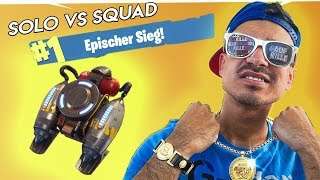 OMG SOLO VS SQUAD GEWONNEN MIT NEUEM JETPACK !! 🔥🔥🔥 Fortnite Battle Royale
