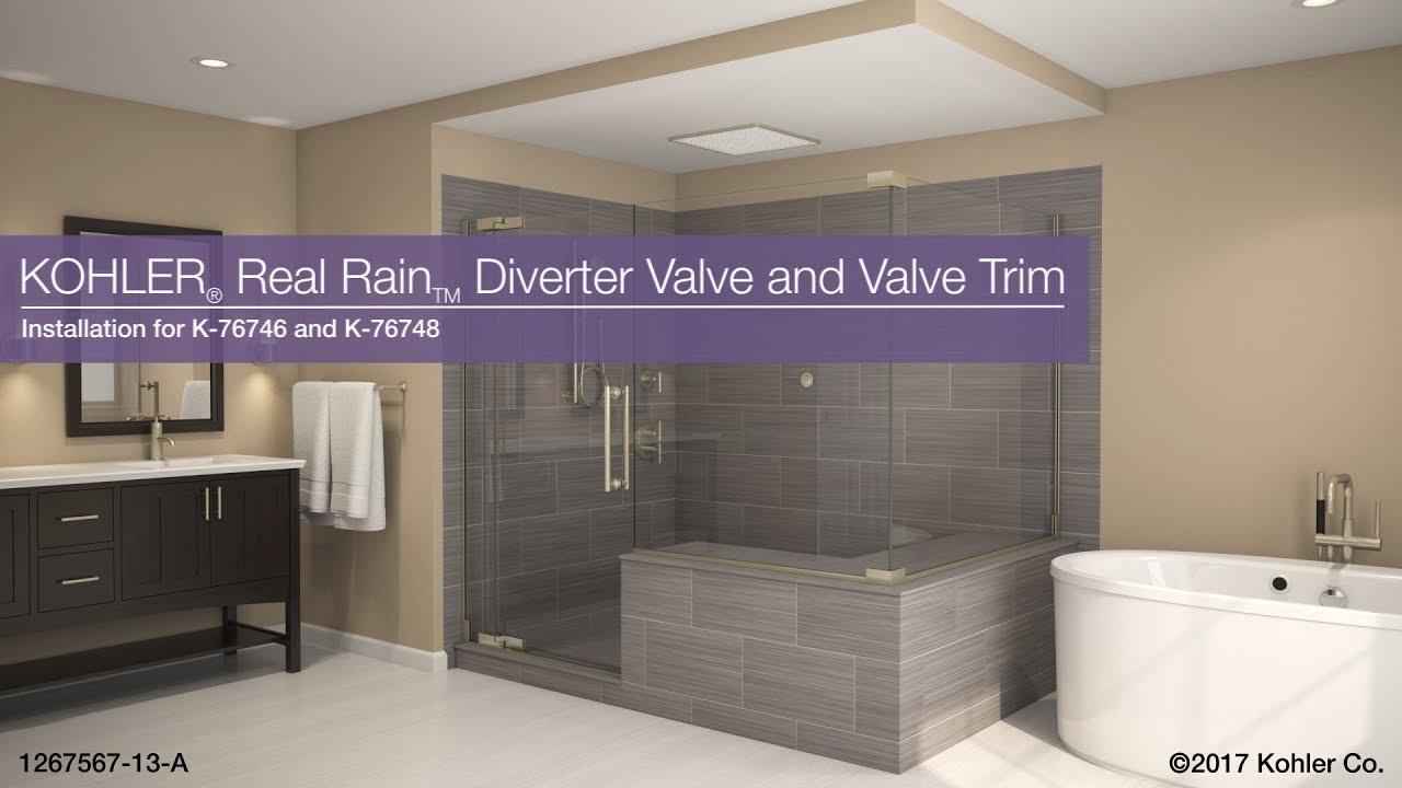 real rain diverter valve and valve trim - Rain Diverter
