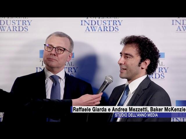 Raffaele Giarda e Andrea Mezzetti, Baker McKenzie - TopLegal Industry Awards 2018