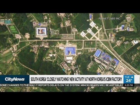 South Korea Monitoring North Korean Activity At Missile Factory